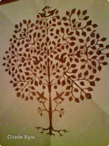 Дерево с птичками фото 6