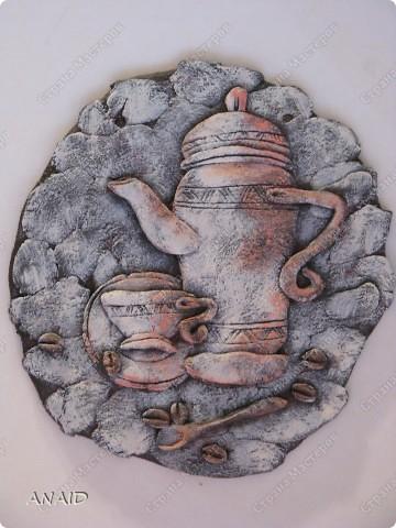 Поделка изделие Лепка Роспись панно Краска Тесто соленое фото 1