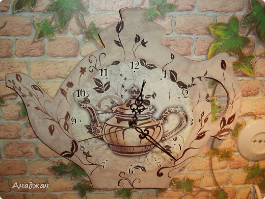 Никак не могу жить без создания часов, во всем и везде вижу часы. Вот и в этот раз сами собой создалось часовое трио. фото 3