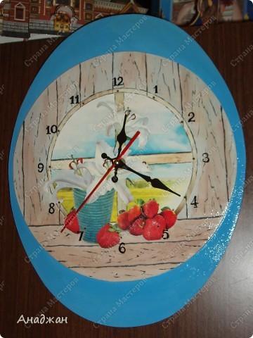 Никак не могу жить без создания часов, во всем и везде вижу часы. Вот и в этот раз сами собой создалось часовое трио. фото 4