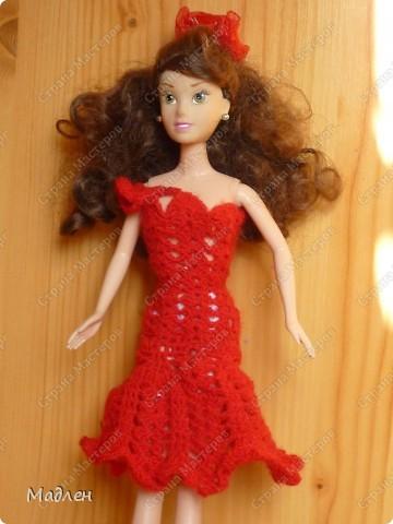 Одеваем Барби 2 фото 3