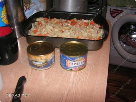 Запеканка с рыбными консервами фото 4