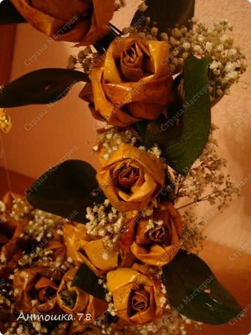 Всем, привет!!! Вот и мои кленовые розы поспели. Всем спасибо за идеи и вдохновения ))). Корзина - повторялка. Спасибо  Татьяне Просняковой за МК http://stranamasterov.ru/node/2168 , где и увидела в комментариях фото от пользователя Кукуська ))) Кукуська большое спасибо ))) фото 2
