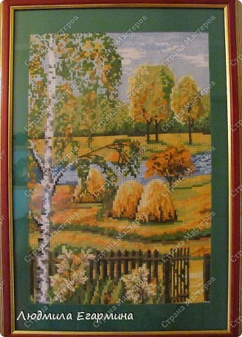 """Картина """"Зима"""" , """"Осень"""" , """"Лето"""" фото 2"""