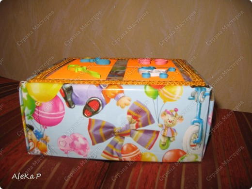 Так я упаковала подарочек на кашу. фото 4