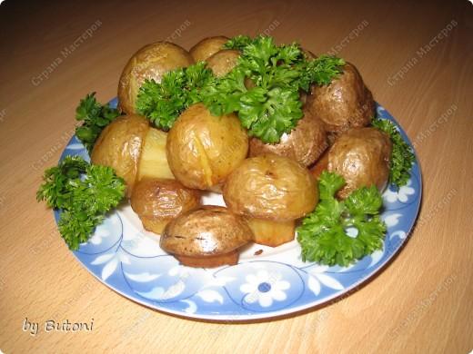 Картофельные грибочки!