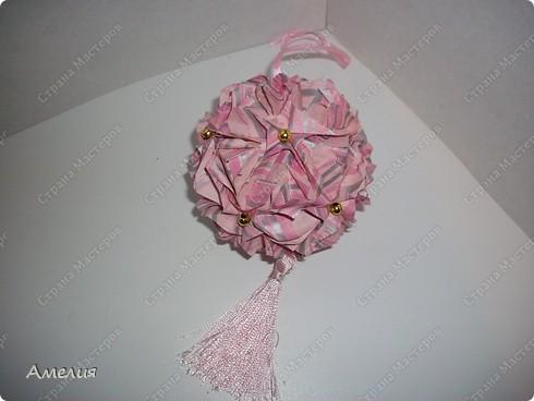 Кусудама Royal rose фото 2