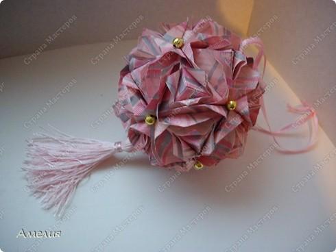 Кусудама Royal rose фото 3