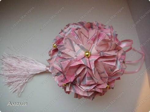 Кусудама Royal rose фото 4