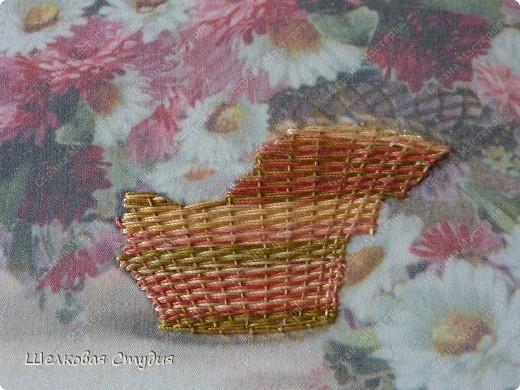 Плетение корзины фото 5