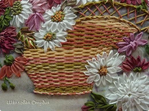 Плетение корзины фото 6