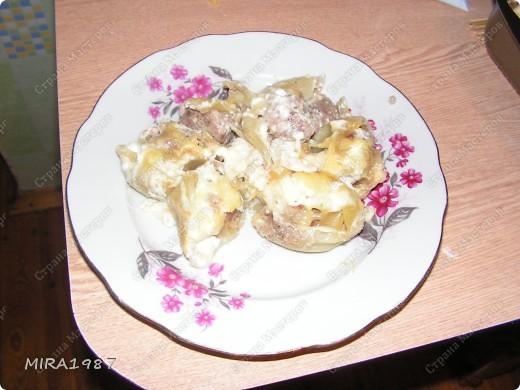 Назвала так свое блюдо потому, что по вкусу очень напоминает пельмени. фото 5