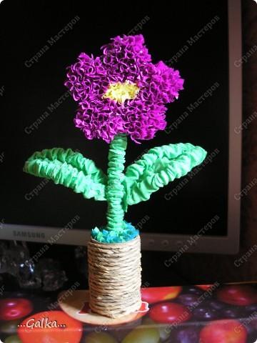 такой вот весёленький цветочек случайно получился :)  фото 1
