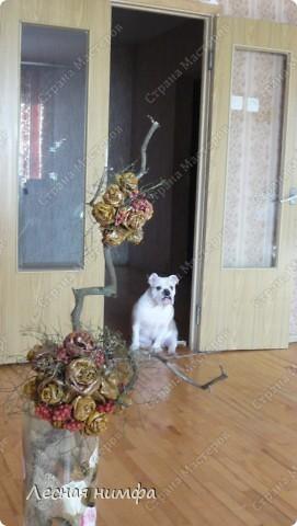 листья превращаются  в букеты роз! фото 2