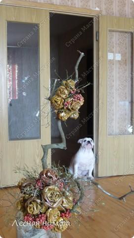 листья превращаются  в букеты роз! фото 4
