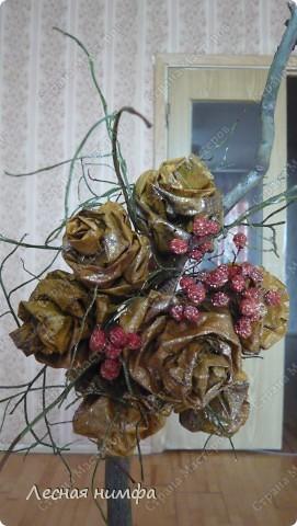 листья превращаются  в букеты роз! фото 7