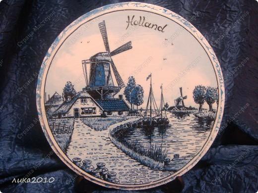 Использованные остатки гипса и салфетки, привезенные сыном из Голландии, и получились небольшие сувенирчики. фото 4