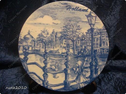 Использованные остатки гипса и салфетки, привезенные сыном из Голландии, и получились небольшие сувенирчики. фото 2