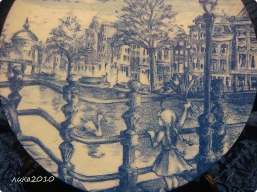 Использованные остатки гипса и салфетки, привезенные сыном из Голландии, и получились небольшие сувенирчики. фото 3
