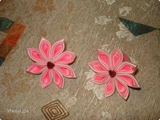 Бабочки - канзаши фото 2