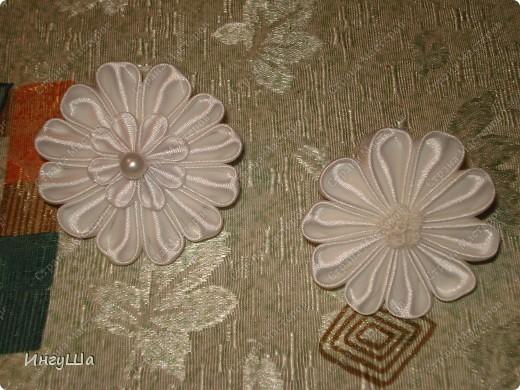 Бабочки - канзаши фото 4