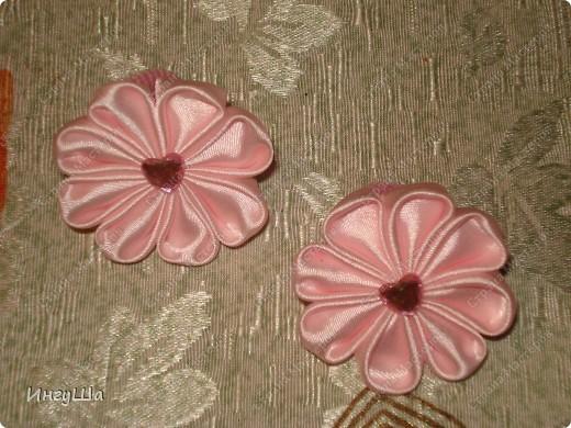 Бабочки - канзаши фото 5
