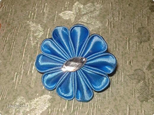 Бабочки - канзаши фото 6