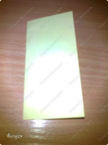 1) я брала обычные листочки квадратные для офисов  согните ого пополам фото 1