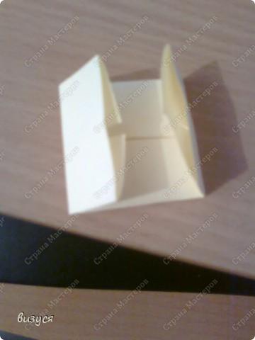 1) я брала обычные листочки квадратные для офисов  согните ого пополам фото 3