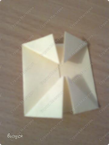 1) я брала обычные листочки квадратные для офисов  согните ого пополам фото 4