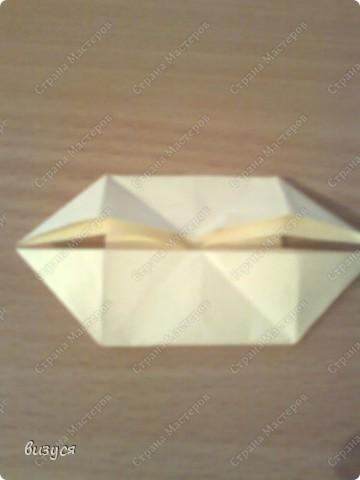 1) я брала обычные листочки квадратные для офисов  согните ого пополам фото 5
