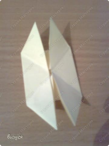 1) я брала обычные листочки квадратные для офисов  согните ого пополам фото 6