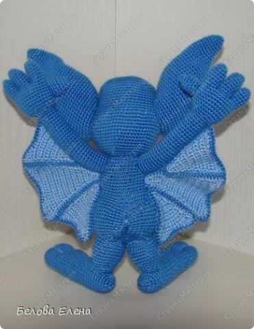 Игрушка Вязание крючком Летучая мышь