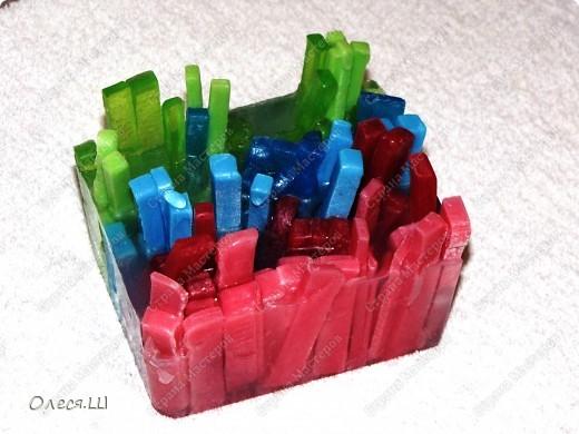 Мыло разноцветные палочки:-))) фото 3