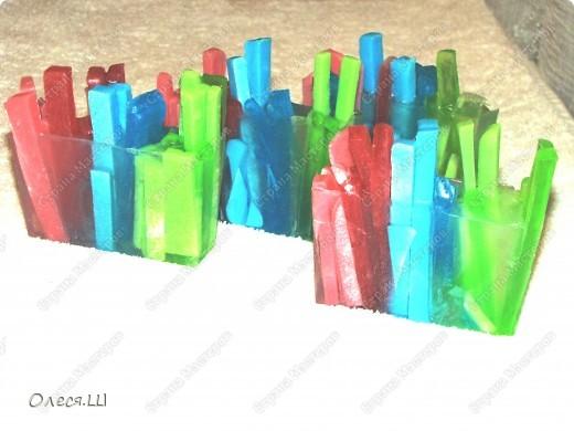 Мыло разноцветные палочки:-))) фото 1