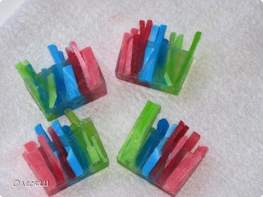 Мыло разноцветные палочки:-))) фото 2