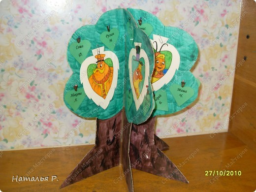 Наше дерево классных поручений. фото 2