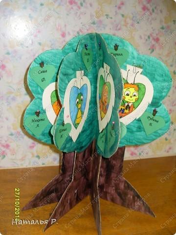 Наше дерево классных поручений. фото 1