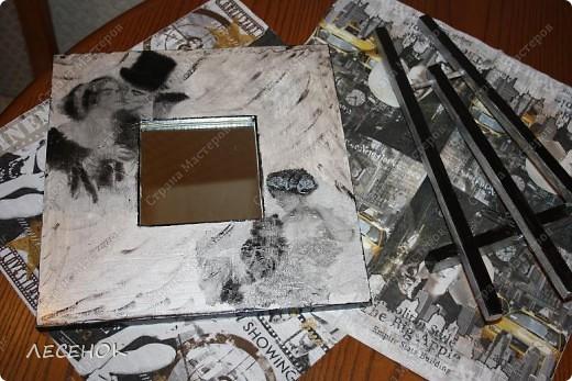 Использовала все те же распечатки на салфеточках.  фото 3
