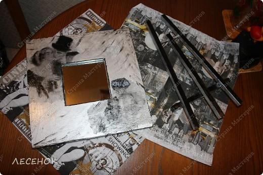 Использовала все те же распечатки на салфеточках.  фото 4