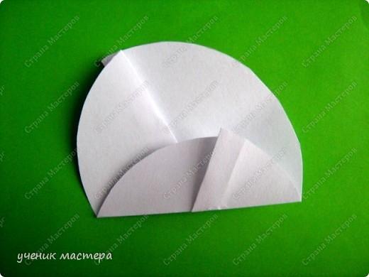 Здравствуйте, я к вам сегодня тоже с елочкой. Идея этой елочки пришла, когда по МК Татьяна Николаевны- http://stranamasterov.ru/node/56531 делала фигурки людей из кругов. Результатом хочу поделиться с вами. фото 5
