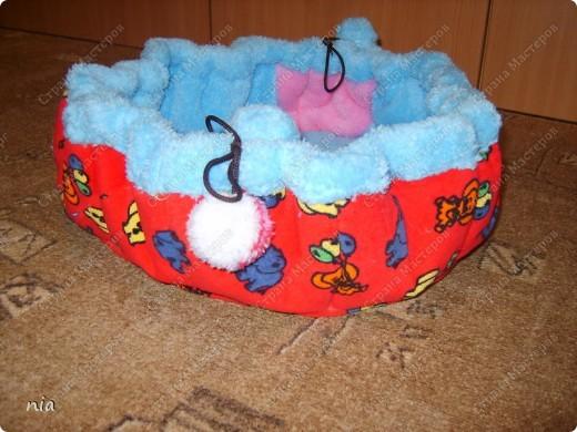 Эту кроватку-трансформер я сшила для будущего котёнка. Появится он в нашей семье в декабре)) фото 10