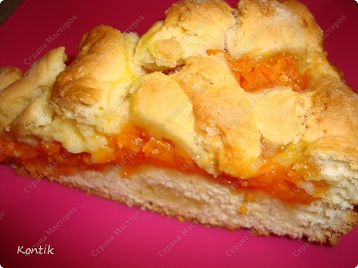 Первый раз   к своему стыду попробовала такой пирог. фото 3