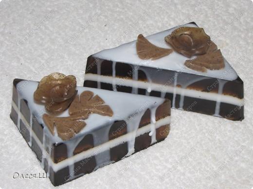 МММММ... Шоколадный тортик.  Но есть не советую:-))) фото 2