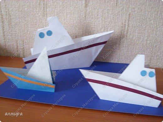 Кораблик для первоклассника, но думаю и дошкольник справится. Автора не знаю. фото 2