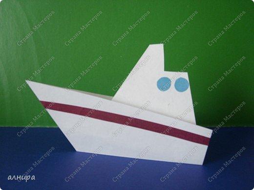 Кораблик для первоклассника, но думаю и дошкольник справится. Автора не знаю. фото 1