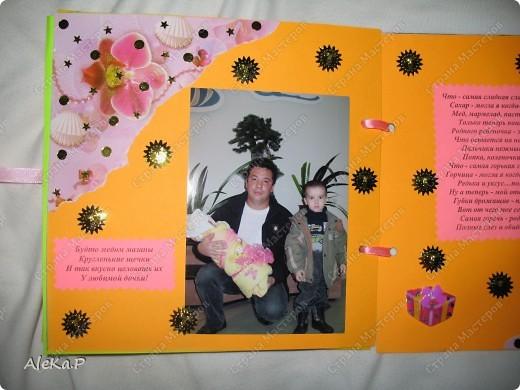 Племяннице исполнился 1 месяц, решила сделать вот такой подарочек, ее родителям, очень были довольны. фото 8
