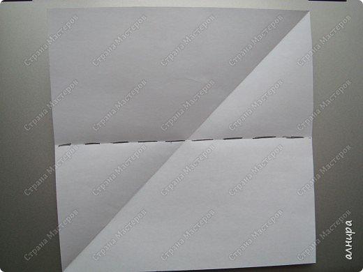 Лодочка оригами.МК фото 2