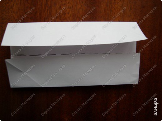Лодочка оригами.МК фото 3
