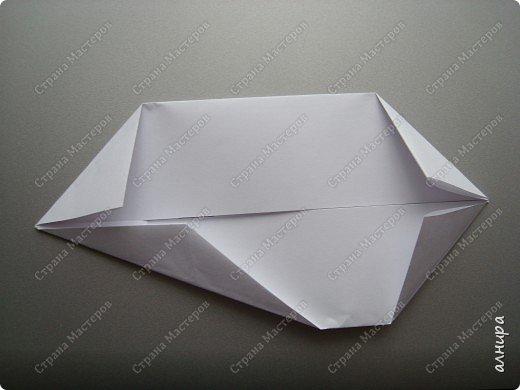 Лодочка оригами.МК фото 5